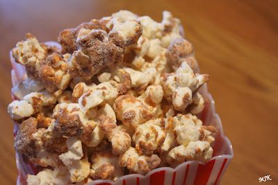 Churro Popcorn (sounds more like a dessert than a snack).