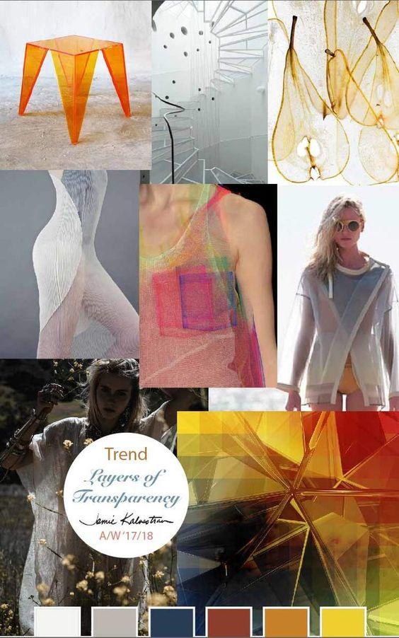 Trend: Transparency Layered A/W '17/18 — Jamie Kalvestran Design