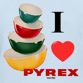 I Love Pyrex | The Top Shop.