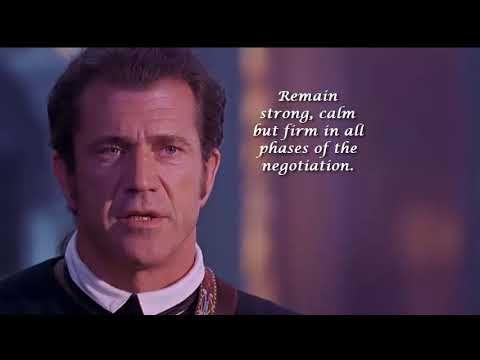 The Patriot Negotiation Patriots Movie Quotes Negotiation