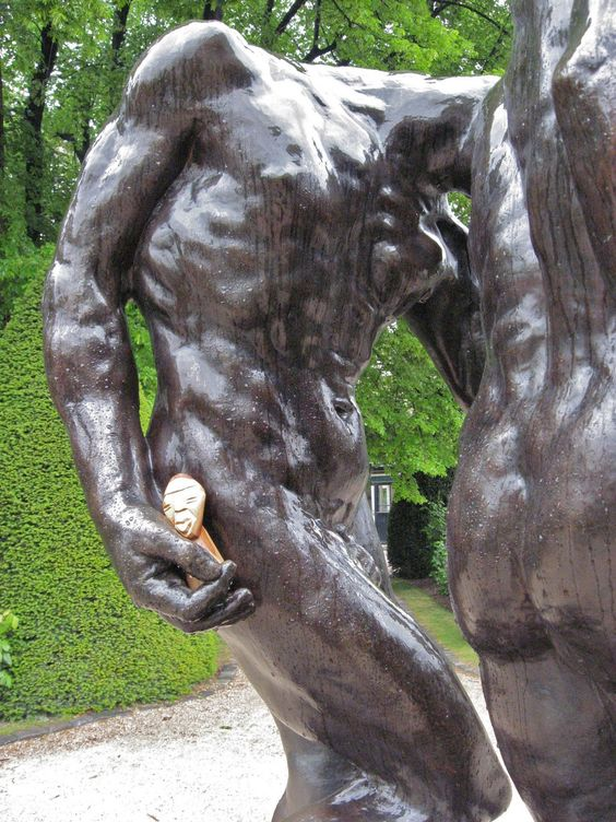 Something about the exaggerated proportioning of the hands on Rodin sculptures is compelling to me.
