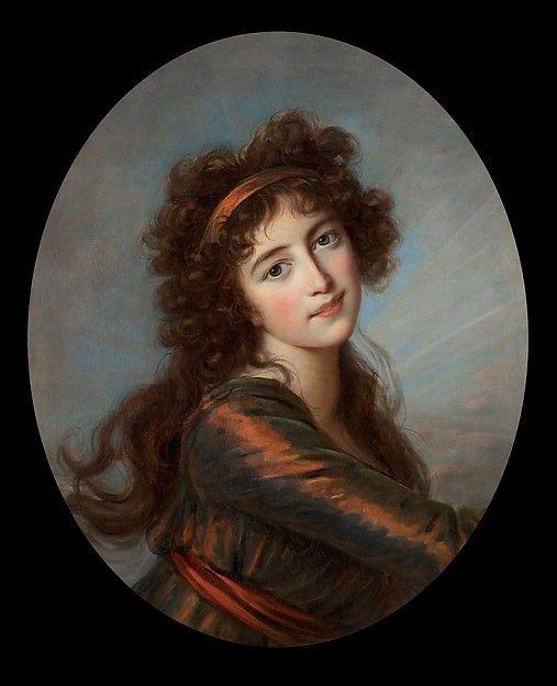 Élisabeth Louise Vigée Le Brun: The Princess von und zu Liechtenstein as Iris