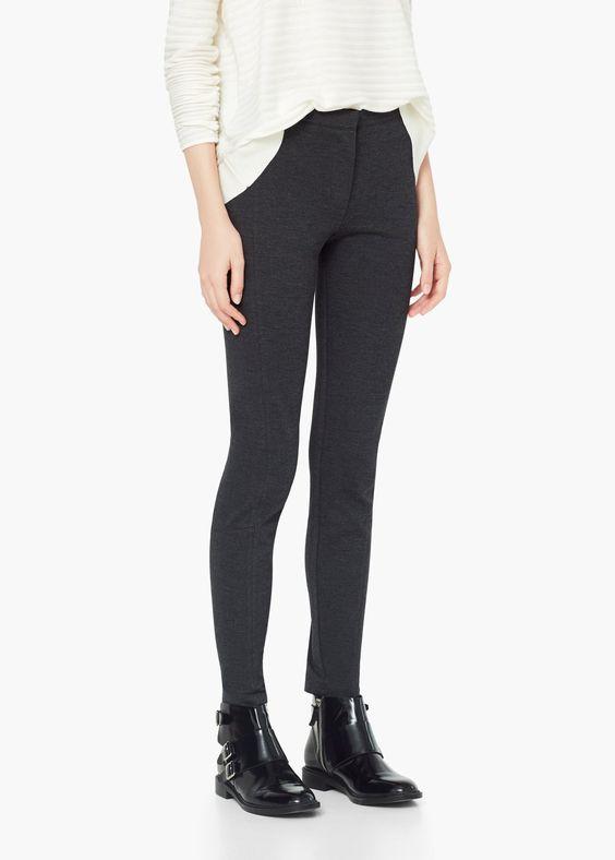 Skinny leggings -  Women   MANGO USA