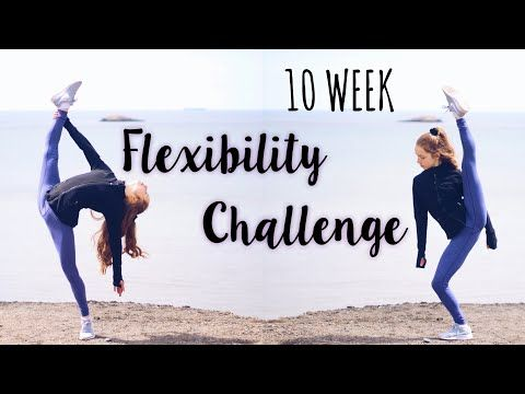Your Weekly Challenge Is Youtube In 2020 Anna Mcnulty Flexibility Challenge Flexibility Workout