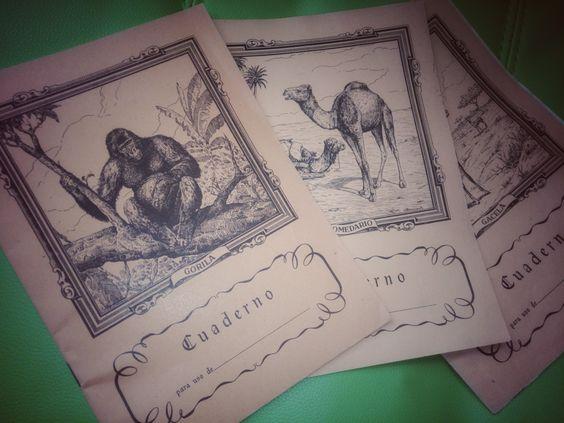 Cuadernos de animales