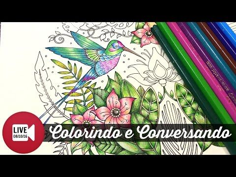 Ao vivo - Selva Mágica - Beija-Flor | Colorindo e Conversando - YouTube