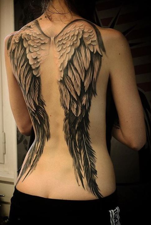 Wing Tattoos Women Tattoos Women Flugel Tatowierungen Frauen