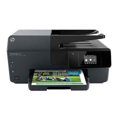 HP Officejet 6812 USB 2.0/WiFi-N e-All-in-One Color Inkjet Printer Scanner Copier Fax Photo Printer (No Ink) - B