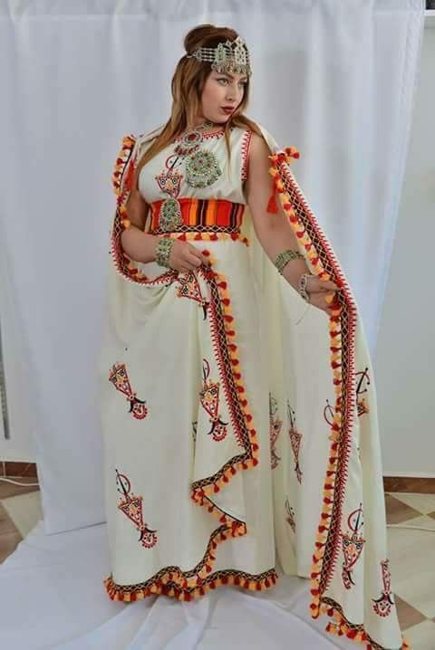 Robe kabyle ~berbère~ | Fashion, Traditional