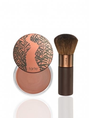 Amazonian clay cream to powder bronzer -