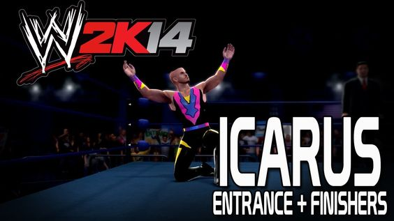 WWE 2K14 - Icarus Entrance + Finishers