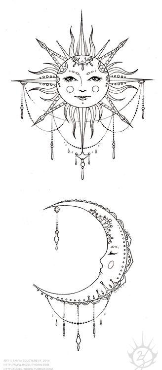 hazel thorn pinterest friend tattoos tattoo ideas and sun. Black Bedroom Furniture Sets. Home Design Ideas
