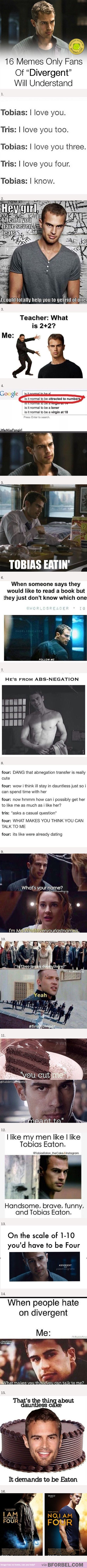 """16 Memes Only Fans Of """"Divergent"""" Will Understand…"""