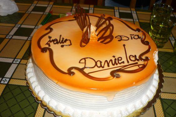 la torta de cumpleaños: Torta De, Birthday, Daniela, Pastry, La Torta