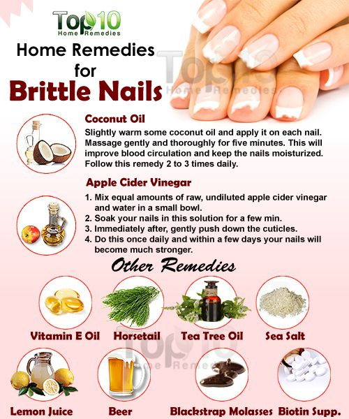 Prev post1 of 3Next Everyone strives to have beautiful nails, but brittle nails can spoil the beauty. Weak and brittle nails that can easily become cracked or chipped are a common problem affecting both men and women. There are three main factors that cause brittle nails – aging, long-term use of nail polish and frequent
