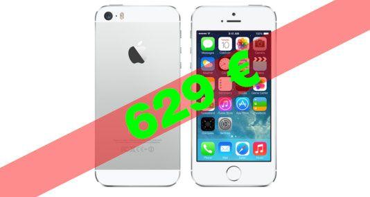 iPhone 5s nur heute für 629 Euro bei ebay! - http://apfeleimer.de/2013/12/iphone-5s-nur-heute-fuer-629-euro-bei-ebay - Apple iPhone 5s, weiß / silber, kein Simlock, 16GB, sofort lieferbar bei Ebay nur heute für 629 Euro (70 Euro billiger als im Apple Store) – wer das iPhone 5s zu Weihnachten verschenken oder sich selbst unter den Baum legen möchte kann hier getrost zuschlagen – Ebay Garantie in...