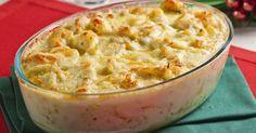 Aprenda a preparar a receita de Bacalhau com queijo e batata