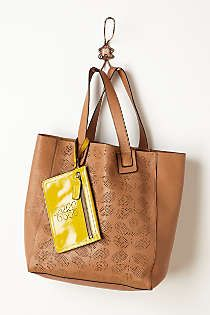 Anthropologie - Stem Punched Tote