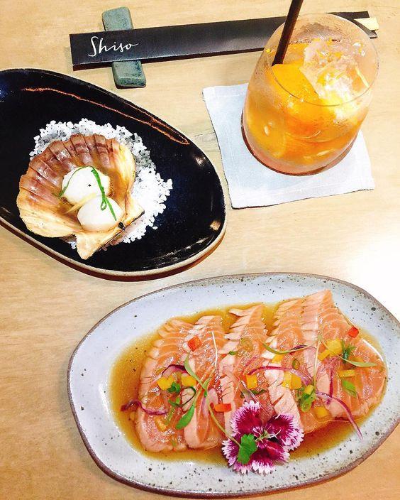 Noite especial no #Shiso restaurante japonês do @grandhyatt_rio  Como queríamos…