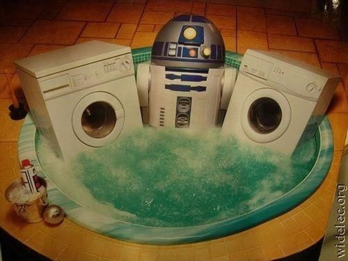 #R2D2 is a real lover