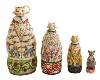 Cat Dolls (Matryoshka).: