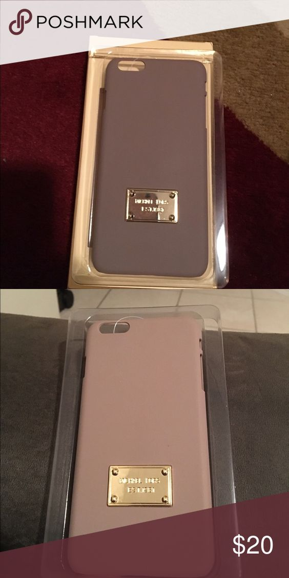 💖iPhone 6plus case💖 📍Price firm📍New for iPhone 6plus.🚫 Trades 🚫 Michael Kors Accessories Phone Cases