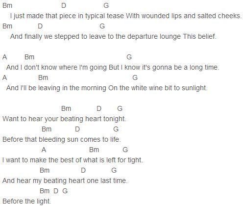 Ellie Goulding Guitar Chords