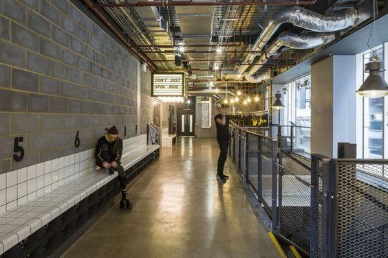 來這運動才是潮!倫敦超時髦健身房1Rebel 打造硬漢LOFT風格