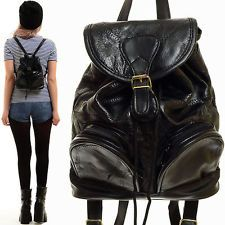 90s leather backpack Backpack Tools