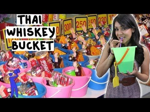 How to make a Thai Whiskey Bucket - Tipsy Bartender - YouTube