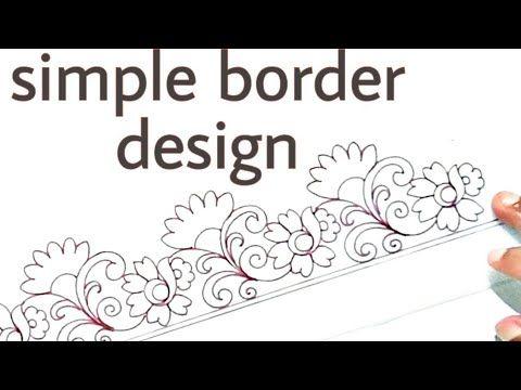 Textile Design Drawing Saree Design Drawing Easy Saree Graph Design Sketch Youtube Flower Drawing Design Graph Design Designs To Draw