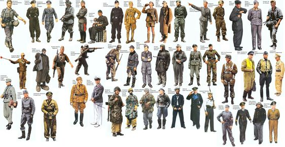 Undoubtedly the Germans in World War II. Literally the epitome of military fashion