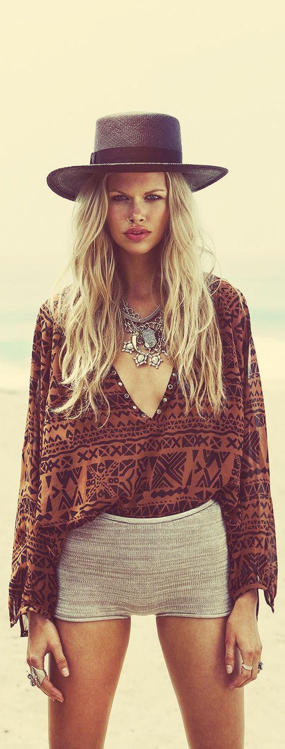 ➳➳➳☮ American Hippie Bohemian Boho Feathers Gypsy Spirit Style ~: