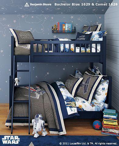 I like the bookshelf for bunkbeds