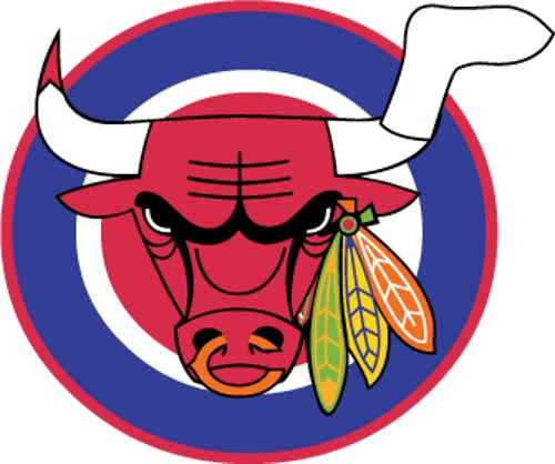 Combination of bulls blackhawks sox bears and cubs logo combination of bulls blackhawks sox bears and cubs logo chicago sports teams pinterest voltagebd Gallery