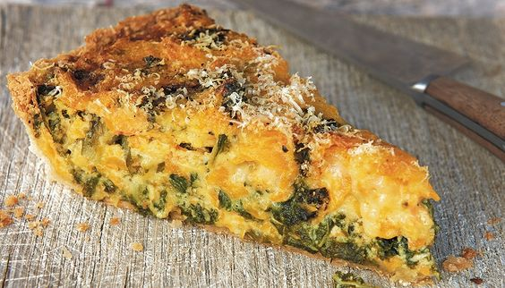 Butternut squash and kale tart | Gardens, Kale and Home