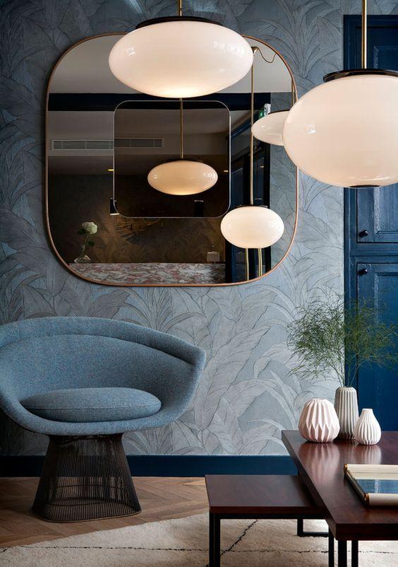 Un appartement style années 50   Décoration inspirée par les années 50   #maison, #décoration, #luxe   Plus de nouveautés sur http://magasinsdeco.fr/appartement-style-annees/