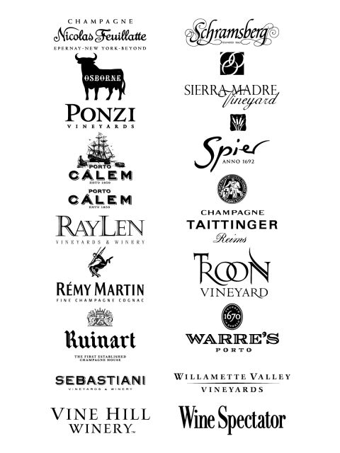 Wine Logos 2 Wine Logo Wine Wine Spectator