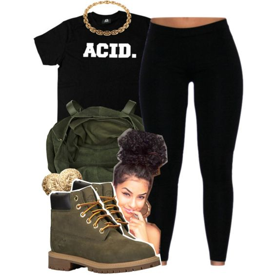 ACID by lovebrii-xo on Polyvore featuring polyvore fashion style River Island Givenchy Timberland
