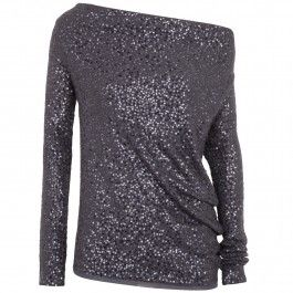 Sequinned silk and cashmere jumper