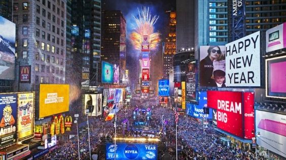 Visit Top Cities of US on New Years Eve 2015