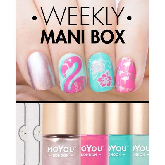 Weekly mani box
