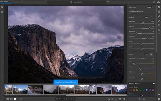 Adobe lightroom cc update