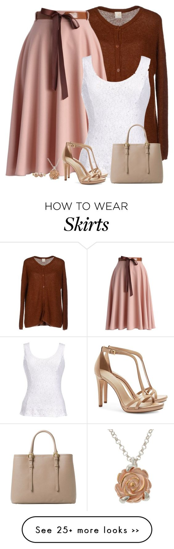 """""""belted skirt"""" by divacrafts on Polyvore"""