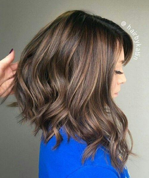 Sublime Long Carr Plongeant Hair Style Pinterest Colori