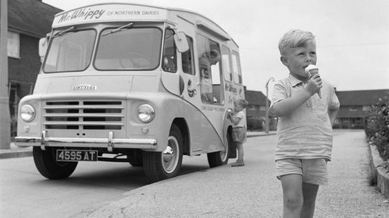 Vintage Summer: National Ice Cream Month #tbt