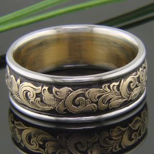 Western rings wedding bands