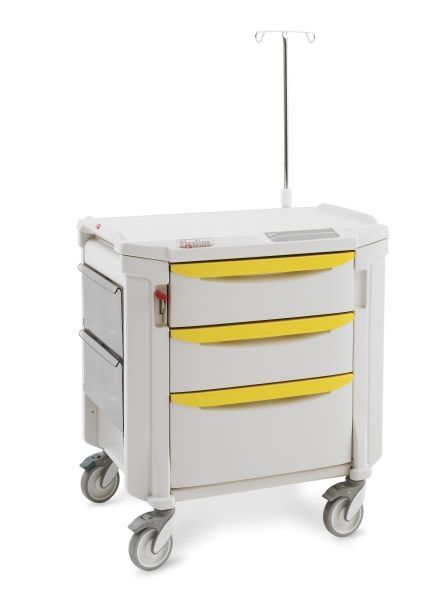 "Flexline Isolation Cart - 36"" high, select from (10) drawer-pull colors."