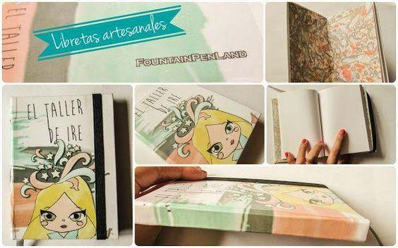 Encuadernación de libretas artesanales. ¡Hazlo tú mismo!