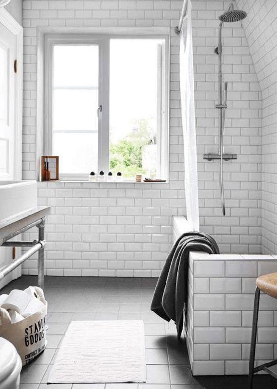 salle de bain scandinave ide dco de salle de bains